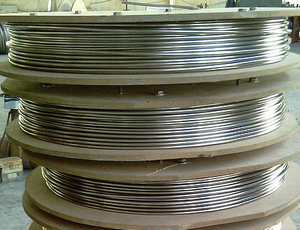 304 stainless steel coiled pipe